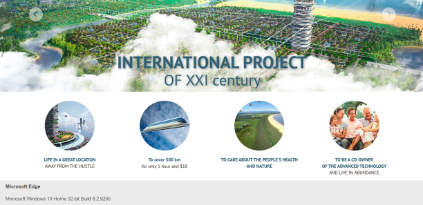 International Project of the 21st Century